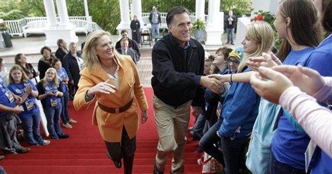 Romney using wife's story to connect with voters